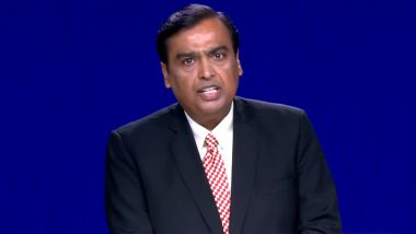 Reliance AGM 2019: Mukesh Ambani Claims Jio Subscriber Base Crosses 340 Million, Says Ready to Kick-Start 4 New Growth Engines