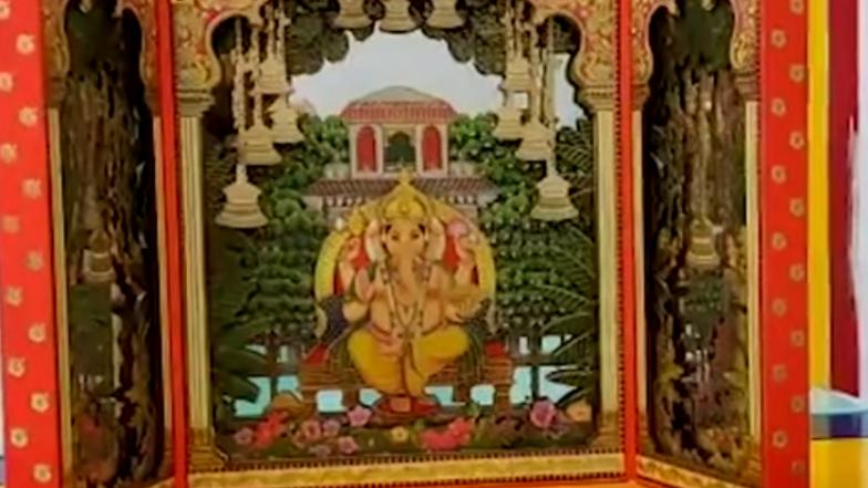 Ganesh Chaturthi 2019: Mukesh and Nita Ambani's Invitation Card for Akash and Shloka's First Ganpati at Home Goes Viral (Watch Video)
