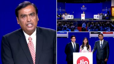 Jio Fiber Commercial Launch on September 5 With Plans Starting From Rs 700; Free HD/4K LED TV With 4K Set Top Box Announced