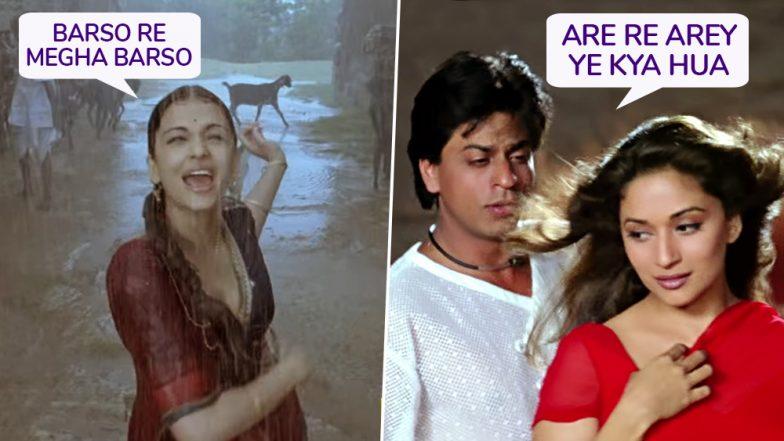 Mumbai Rains: From Barso Re Megha to Arey Re Arey, Bollywood Songs that Depict Every Monsoon Mood of Mumbaikars