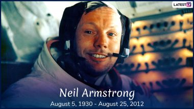 NASA Astronaut Neil Armstrong Death Anniversary: 5 FAQs About American Astronaut And The First Person to Walk on Moon