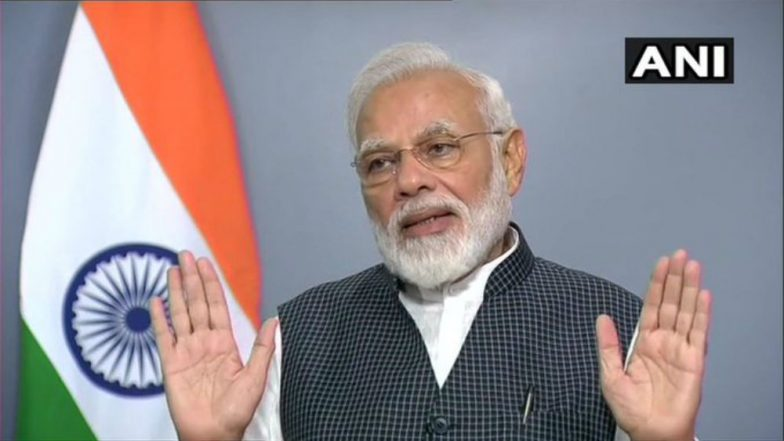 PM Narendra Modi Address to Nation: Dream of Sardar Vallabhbhai Patel, Syama Prasad Mookerjee, Atal Bihari Vajpayee Fulfilled by Abrogating Article 370 in Jammu and Kashmir