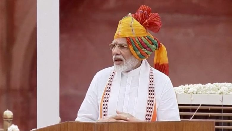 PM Narendra Modi on Independence Day 2019: Post Article 370, One Can Proudly Say 'One Nation, One Constitution'