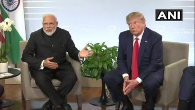 G7 Summit: Donald Trump Says PM Narendra Modi Feels Kashmir Situation is Under Control