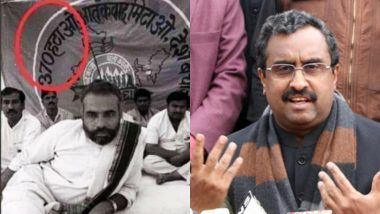 Ram Madhav Posts PM Modi's Old Photo Protesting Article 370, Writes 'Promise Fulfilled'