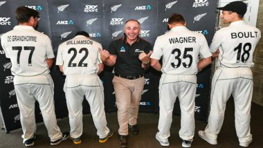 NZ vs SL 2019: BlackCaps Announce Test Jersey Numbers for Series Against Sri Lanka