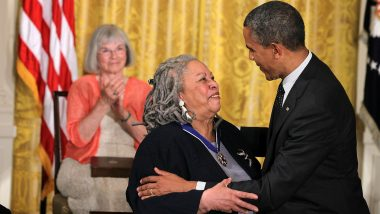 Nobel Prize Winner Writer Toni Morrison Dies At 88