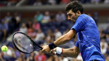 Novak Djokovic Out of US Open 2019 After Retiring Hurt in the 4th Round Tie Against Stan Wawrinka With Shoulder Injury