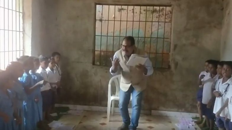 'Dancing in Classroom': Odisha Teacher Wins Heart With His Unique Teaching Style, Watch Video