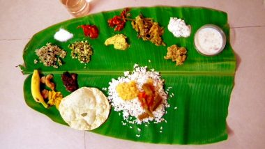 Onam 2019 Special: Relish Authentic Onam Sadhya Dishes in These Restaurants in Mumbai to Celebrate Harvest Festival