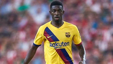 Ousmane Dembele Joins Injured Lionel Messi and Luis Suarez, Barcelona Forward Ruled Out for Five Weeks Due to Hamstring Injury