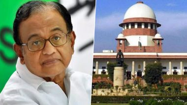 INX Media Case: Supreme Court Grants Interim Protection to P Chidambaram from Arrest in ED Case Till August 26