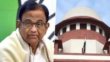 INX Media Case: P Chidambaram Gets One More Day of Reprieve by Supreme Court From ED Arrest