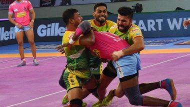 PKL 2019 Match Report & Results: Jaipur Pink Panthers Beat Patna Pirates 34-21