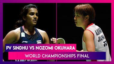 PV Sindhu Beats Nozomi Okuhara to Win BWF World Championships 2019 Title