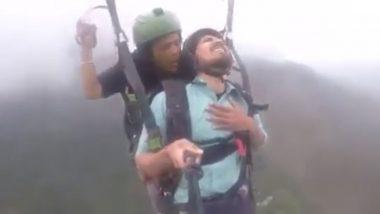 'Land Kara De Bhai' Funny Paragliding Video Goes Viral; Twitterati Cracks Jokes on Indian Economy