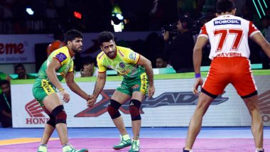 PKL 2019 Dream11 Prediction For Patna Pirates vs UP Yoddha Kabaddi Match: Tips on Best Picks For Raiders, Defenders and All-Rounders For PAT vs UP Clash