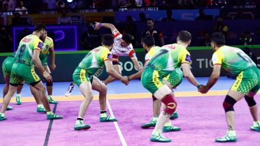 Patna Pirates vs UP Yoddha PKL 2019 Match 33 Free Live Streaming and Telecast Details: Watch PAT vs UP, VIVO Pro Kabaddi League Season 7 Clash Online on Hotstar and Star Sports