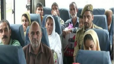 Jammu and Kashmir: 40 PoK Residents Cross Border Through Cross-LoC Bus Service