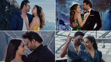 Saaho Song Enni Soni: Prabhas and Shraddha Kapoor's Crackling Chemistry and the Sublime Tune Make It a Perfect Love Anthem (Watch Video)
