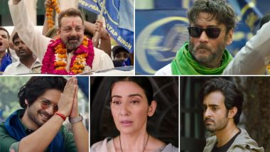 Prassthanam Title Track: Seeing Sanjay Dutt, Manisha Koirala, Jackie Shroff in One Song Will Make the 90s Kid in You Very Happy (Watch Video)
