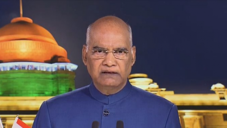 President Ram Nath Kovind's Address to Nation on Eve of Independence Day 2019: 'Confident That Recent Changes For Jammu and Kashmir, Ladakh Will Greatly Benefit Residents There'