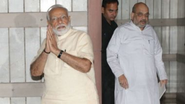 Indira Gandhi Death Anniversary: Narendra Modi, Amit Shah Pay Homage to The Former Indian Prime Minister