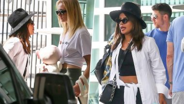 Priyanka Chopra, Sophie Turner and Jonas Brothers Leave Miami After a Successful Happiness Begins Tour (View Pics)