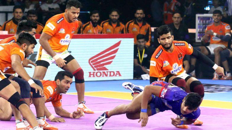 Jaipur Pink Panthers vs Puneri Paltan PKL 2019 Match 42 Free Live Streaming and Telecast Details: Watch JAI vs PUN, VIVO Pro Kabaddi League Season 7 Clash Online on Hotstar and Star Sports