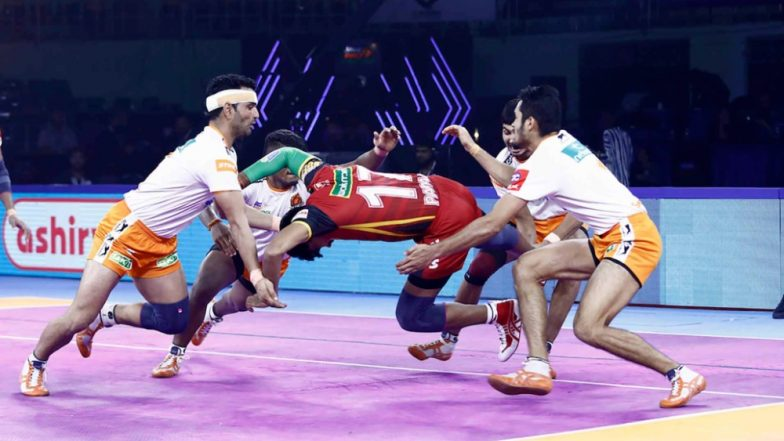PKL 7 Results: Puneri Paltan Outwit Defending Champions Bengaluru Bulls 31-23 in Pro Kabaddi League 2019 Encounter