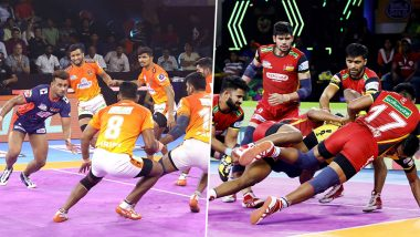 PKL 2019 Live Streaming: Puneri Paltan vs Bengaluru Bulls Match Telecast Details: PUN vs BEN, VIVO Pro Kabaddi League Season 7 Clash Online on Hotstar and Star Sports
