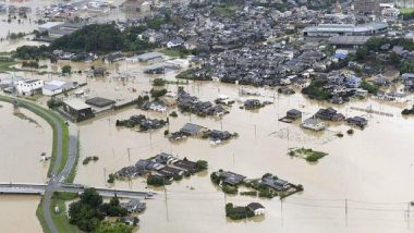 Japan: Over 6 Lakh People in Kyushu Asked to Evacuate Amid Flood-Like Situation