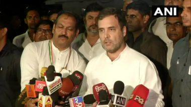 PM Narendra Modi Needs to Clear the Air Over Jammu and Kashmir, Says Rahul Gandhi