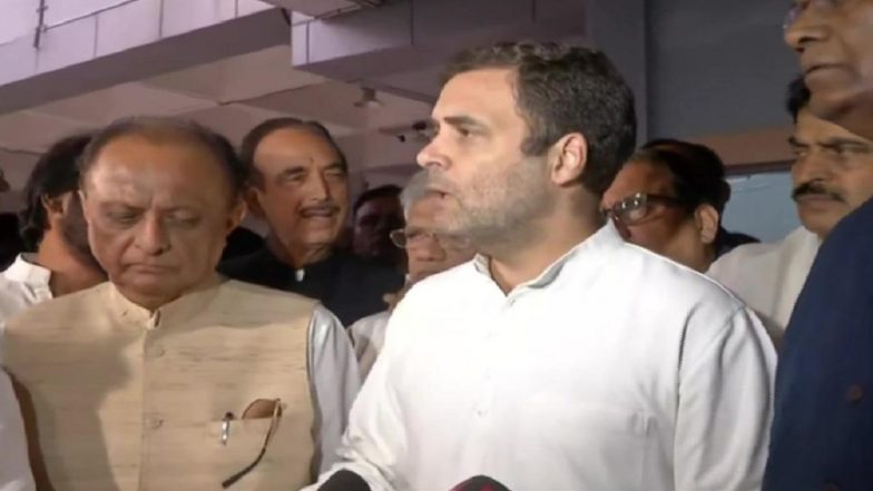 Rahul Gandhi Hits Out at Jammu & Kashmir Governor, Says Situation Far From Normal, 'Media Being Manhandled'