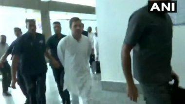 Rahul Gandhi-Led Opposition Delegation Denied Permit to Visit Jammu & Kashmir, Sent Back From Srinagar Airport