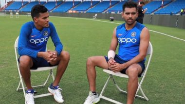 Deepak and Rahul Chahar Teach Fans How to Pronounce Chahar Ahead of India vs West Indies 1st T20I (Watch Video)