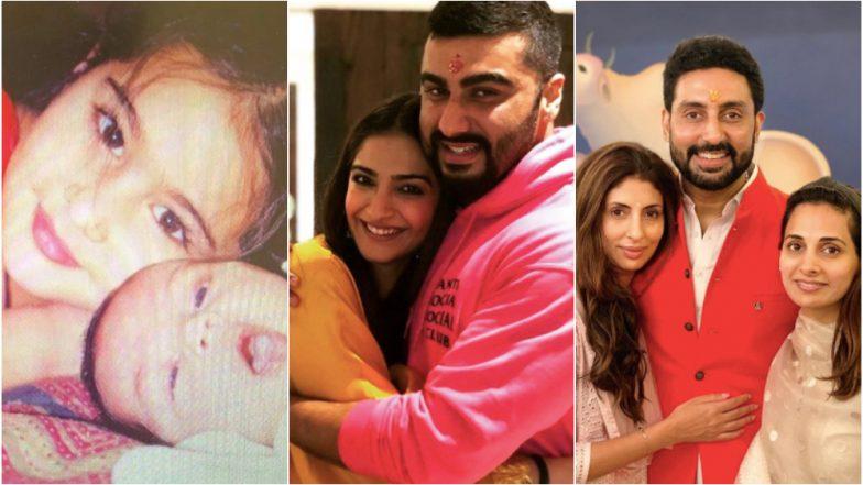 Raksha Bandhan 2019: Sara Ali Khan, Arjun Kapoor, Abhishek Bachchan and Other Bollywood Stars Share Adorable Posts Celebrating the Festival