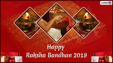 Raksha Bandhan 2019 Greetings: Happy Rakhi Quotes, WhatsApp Stickers, GIF Images, Facebook Status Messages to Share Today