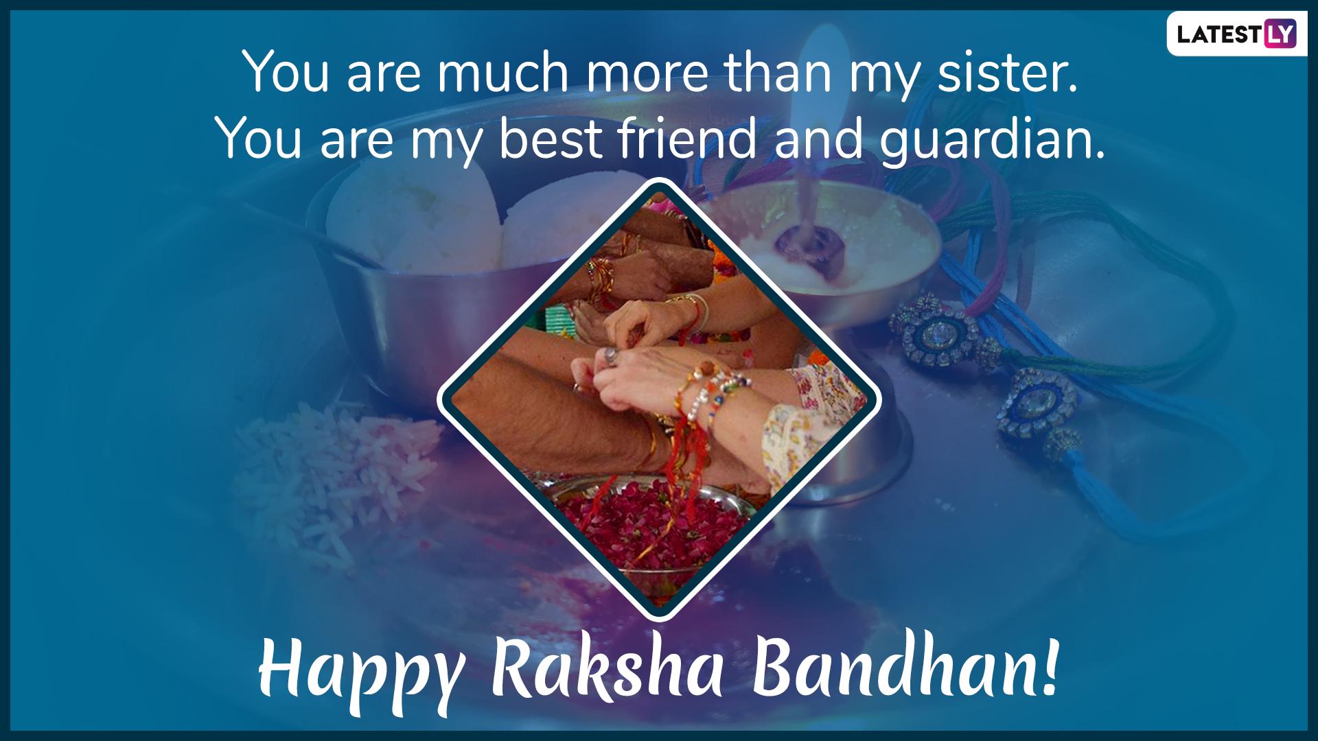 Raksha Bandhan 2019 greeting card for download 3 (Photo credits: File Image)