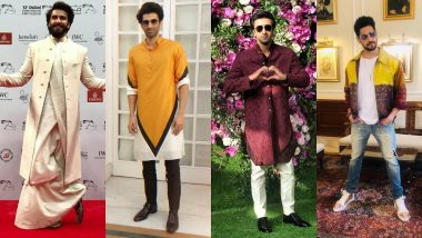 Raksha Bandhan 2019: Actors Ranveer Singh, Ranbir Kapoor, Kartik Aaryan, Sidharth Malhotra Have The Best Style Tips For You!