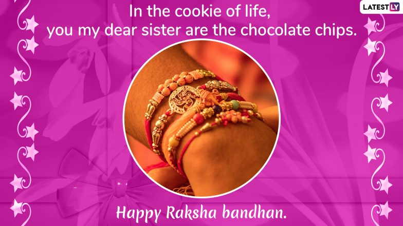 Happy Raksha Bandhan 2019 Wishes For Brothers & Sisters: WhatsApp Stickers, GIF Image Messages, SMS and Rakhi Greetings to Send on Hindu Festival