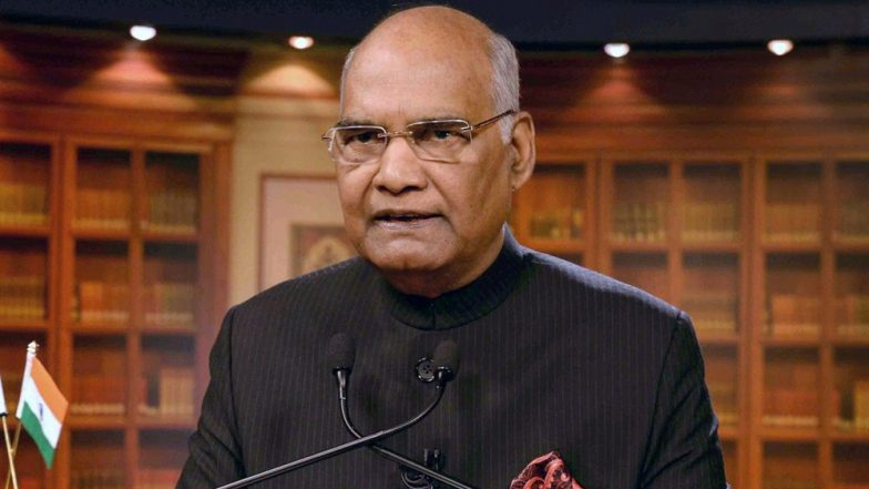 President Ram Nath Kovind Address to The Nation on Republic Day Eve 2020 Highlights: President Asks Youth to Adhere to Tenets of Democracy Enshrined in the Constitution, Says 'Never Forget Gift of Ahimsa by Mahatma Gandhi'