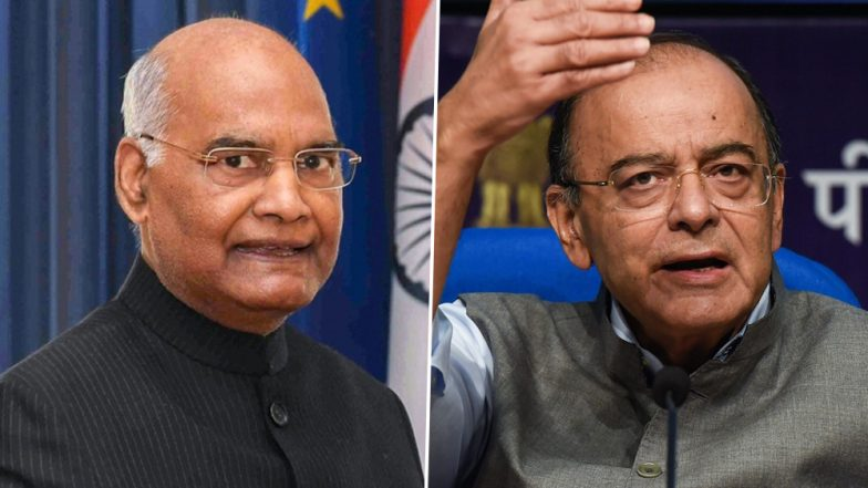 Arun Jaitley Health Update: President Ram Nath Kovind Meets Ailing BJP Leader at AIIMS Today
