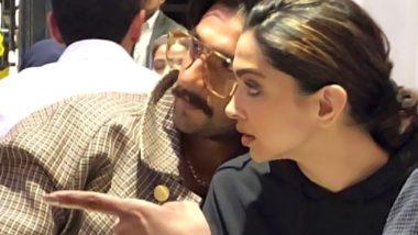 Deepika Padukone and Ranveer Singh Look Cute in This Candid Shot! (View More Pics)