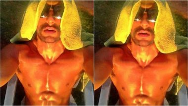 Ranveer Singh Faces the Heat Wave in the UK But his Abs are Hotter than the Climate - View Pic