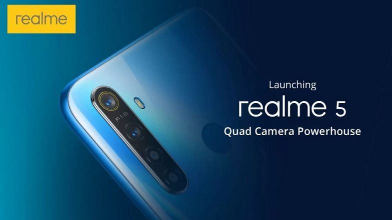 Realme 5 and 5 Pro official with quad cameras and low prices