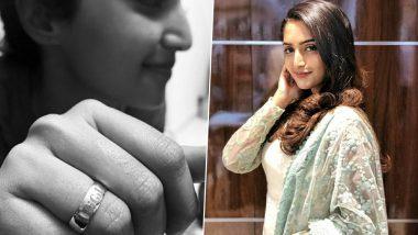 BIGIL: Malayalam Actress Reba Monica John Thanks Thalapathy Vijay for the Gold Ring! View Pics