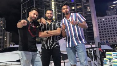 Rohit Sharma, Rishabh Pant and Shreyas Iyer Enjoy Outing Amid India vs West Indies 2019 Tour, Indian Cricketers Look Cool in New Photos