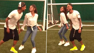 Roberto Pereyra Dances to Shah Rukh Khan's Baazigar O Baazigar! Argentine Footballer's Video Impresses Indian Fans (Watch Video)