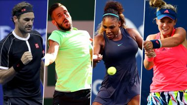 US Open 2019: Roger Federer vs Damir Dzumhur, Serena Williams vs Caty McNally & Other Second Round Tennis Matches To Watch Out For at Flushing Meadows